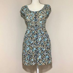 Zara floral mini Dress Xs size